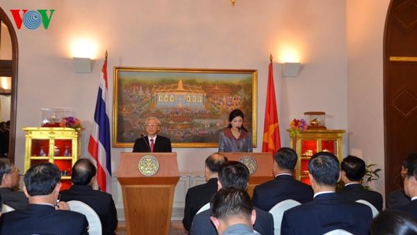 ยกระดับความสัมพันธ์เวียดนาม-ไทยไปสู่ความเป็นหุ้นส่วนทางยุทธศาสตร์  - ảnh 2