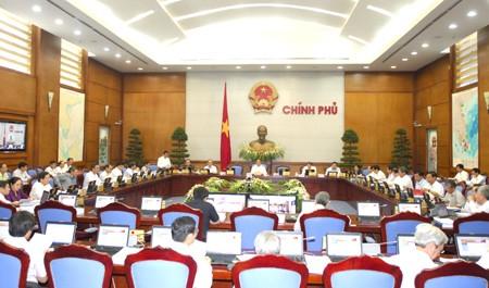 รัฐบาลประชุมประจำเดือนมิถุนายน - ảnh 1
