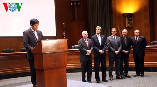 รำลึก20ปีความสัมพันธ์ทางการค้าเวียดนาม-สหรัฐ - ảnh 1