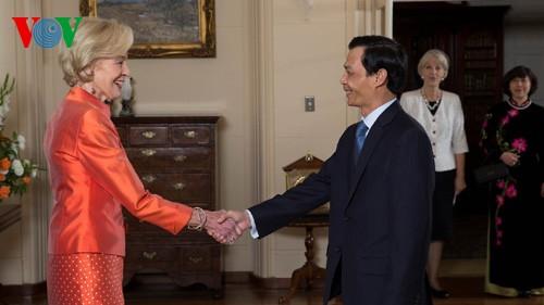 ความสัมพันธ์ออสเตรเลีย-เวียดนามจะพัฒนาเข้มแข็งต่อไป - ảnh 1
