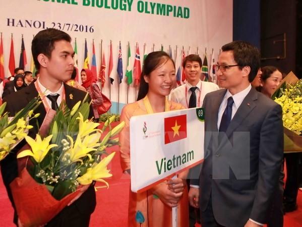 เวียดนามได้4เหรียญรางวัลในการแข่งขันไอบีโอ2016 - ảnh 1