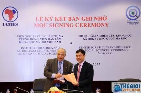 เวียดนาม-โมร็อคโค ขยายการแลกเปลี่ยนข้อมูลเชิงวิทยาศาสตร์ - ảnh 1