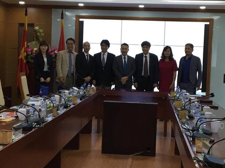 ผลักดันความร่วมมือระหว่างสถานีวิทยุเวียดนามกับกลุ่มบริษัทสื่อสาร KansaiTV ของญี่ปุ่น - ảnh 1