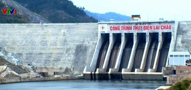 โรงไฟฟ้าพลังน้ำลายโจว์-จุดท่องเที่ยวที่น่าสนใจของเขตเขาตอนบน - ảnh 1