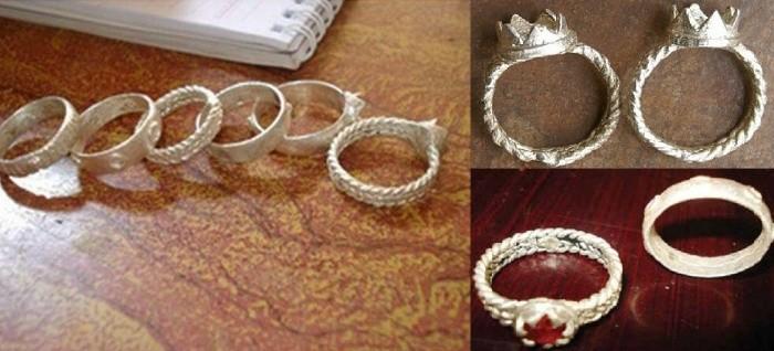 แหวนหมั้น สัญลักษณ์แห่งความรักของชนเผ่าจูรู - ảnh 1