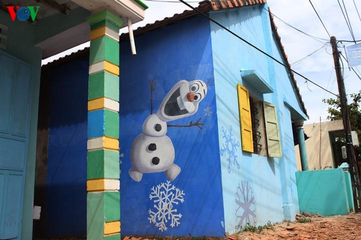 เที่ยวหมู่บ้านศิลปะชุมชนที่ตามแทง อ.ตามกี่ จ.กว๋างนาม - ảnh 3
