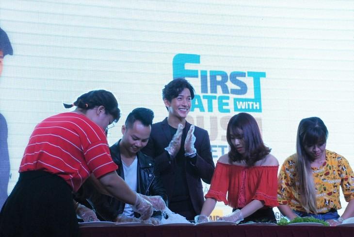พุฒิชัย เกษตรสิน (DJ Push) กับงานพบปะแฟนคลับเวียดนามเป็นครั้งแรก - ảnh 8