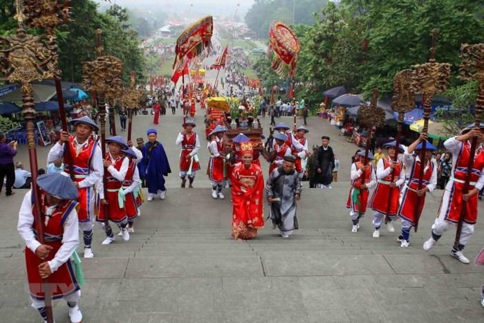 Phu Tho성 민족 동포의 훙 왕 숭배 신앙 - ảnh 2