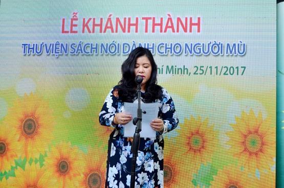 Nguyen Huong Duong씨와 시각 장애인을 위한 음성 도서관 - ảnh 1