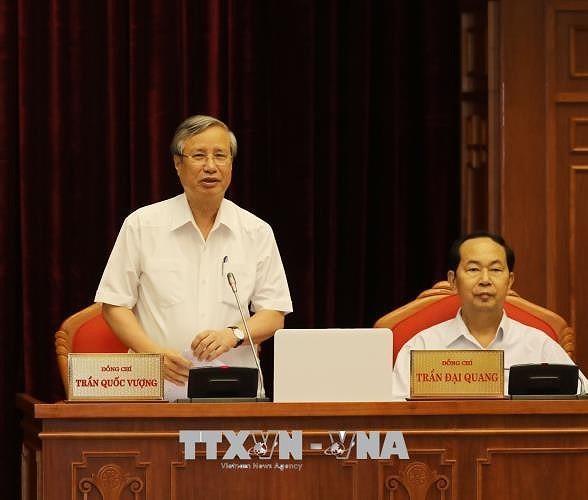 12차 베트남 중앙 집행부 제 7 차 회의 4일째 - ảnh 1