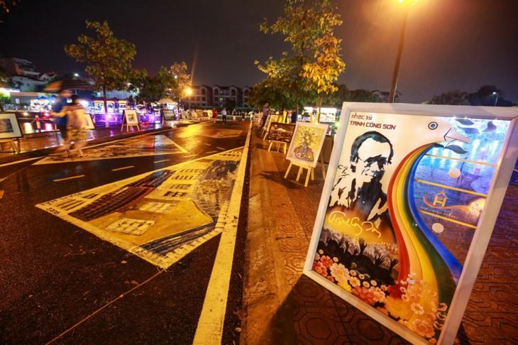 베트남 하노이, 찐공선 보행자 거리 개관 - ảnh 1