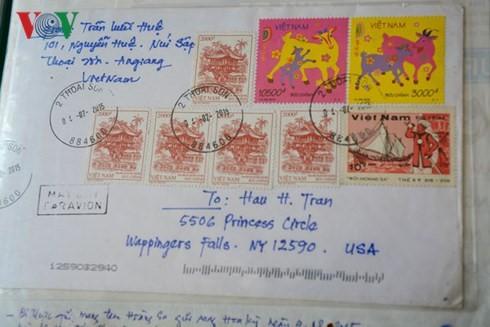 Hoang Sa, Truong Sa의 독특한 우표 수집품을 가진 농부 - ảnh 3