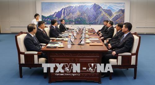 10 여 년만에 남조선민주주의인민공화국 간의 첫 번째 장성급 군사 회담 - ảnh 1