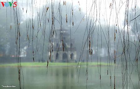 Hoài cảm mưa phùn Hà Nội - ảnh 1