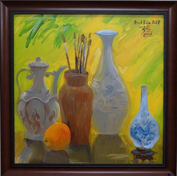 Mùa xuân trong tranh của họa sĩ Nguyễn Đức Hòa - ảnh 3