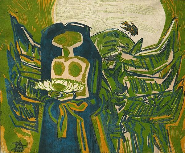 Mùa xuân trong tranh của họa sĩ Nguyễn Đức Hòa - ảnh 6