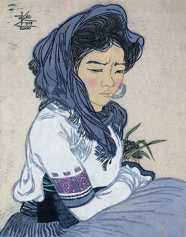 Mùa xuân trong tranh của họa sĩ Nguyễn Đức Hòa - ảnh 8
