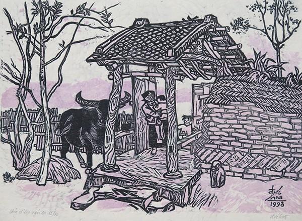 Mùa xuân trong tranh của họa sĩ Nguyễn Đức Hòa - ảnh 9