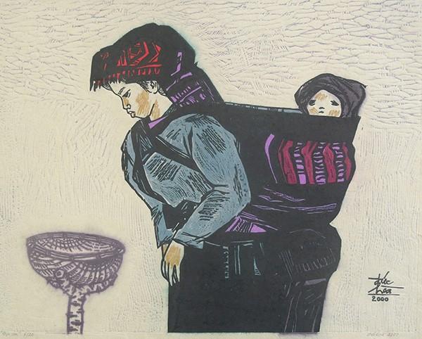 Mùa xuân trong tranh của họa sĩ Nguyễn Đức Hòa - ảnh 10