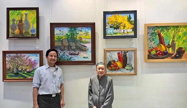 Mùa xuân trong tranh của họa sĩ Nguyễn Đức Hòa - ảnh 1