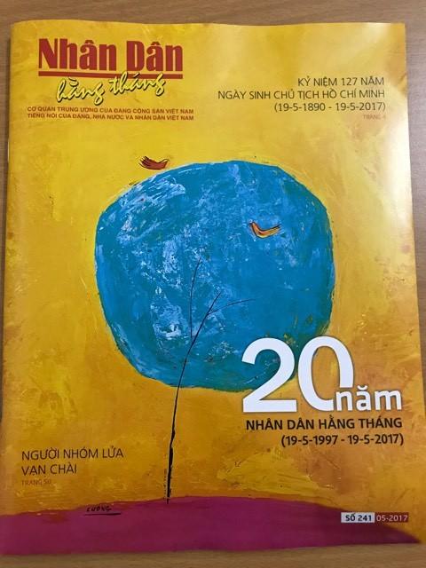 Kỷ niệm 20 năm Báo Nhân Dân Hằng tháng ra số đầu tiên - ảnh 1
