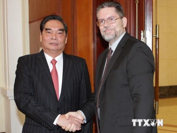 Никарагуа поддерживает Вьетнам в защите своего национального суверенитета  - ảnh 1