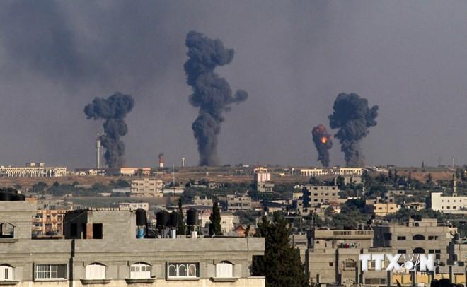 Израиль начал военную операцию в секторе Газа  - ảnh 1