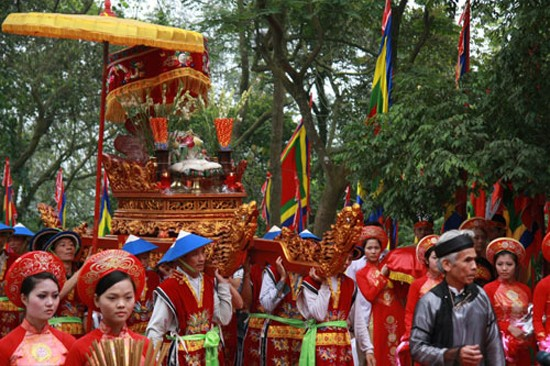 Поминовение королей Хунгов – отражение культурной традиции и души вьетнамского народа - ảnh 1