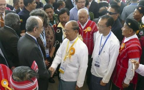 Правительство Мьянмы заключило соглашение о перемирии с повстанческими организациями  - ảnh 1