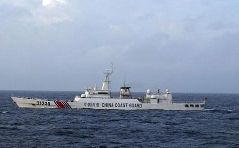Япония обнаружила вооружённый корабль Китая вблизи полуострова Босо  - ảnh 1