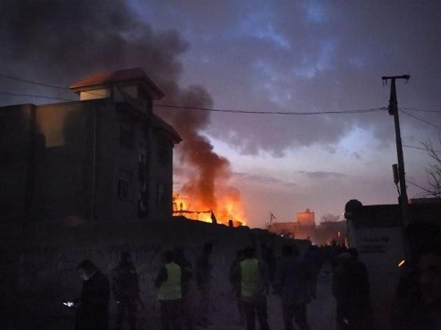 Два человека погибли, 15 ранены в результате теракта в столице Афганистана - ảnh 1