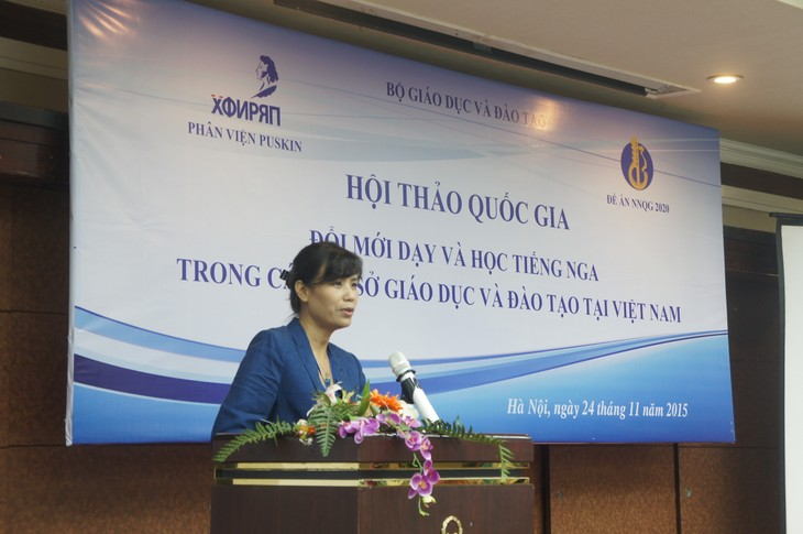 Трудности в обучении русскому языку во Вьетнаме - ảnh 2