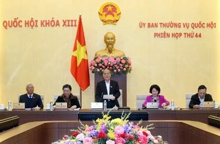 Продолжается работа 44-го заседания ПК Национального собрания СРВ - ảnh 1