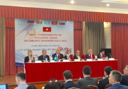 Сошлашение о ЗСТ между СРВ и ЕАЭС: большие возможности для предприятий Вьетнама - ảnh 1