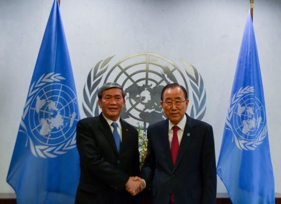 Динь Тхэ Хуинь: Вьетнам ценит и поддерживает роль ООН в вопросах АТР - ảnh 1