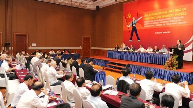 18-я Международная встреча коммунистических и рабочих партий в Ханое - ảnh 1