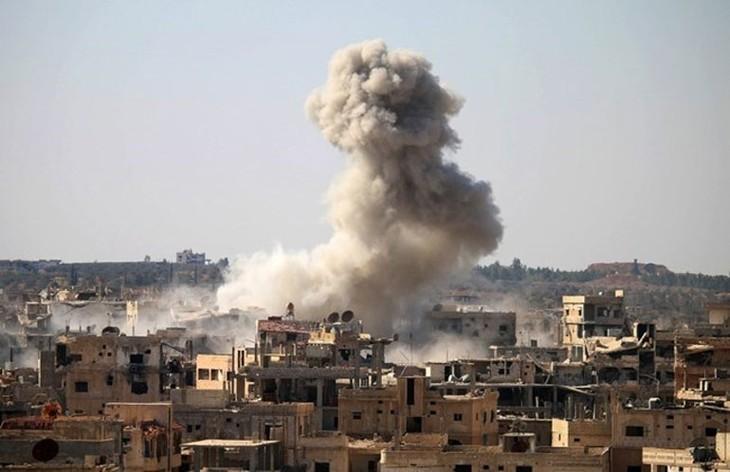 Главы МИД России, Ирана и Сирии провели переговоры в Москве - ảnh 1