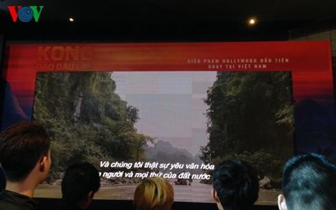 Во Вьетнаме прошла премьера фильма «Конг: остров черепа»  - ảnh 1