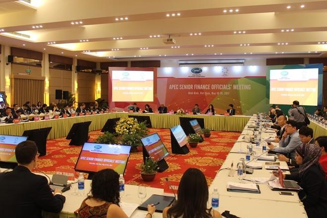 В провинции Ниньбинь открылась конференция старших финансовых должностных лиц АТЭС  - ảnh 1