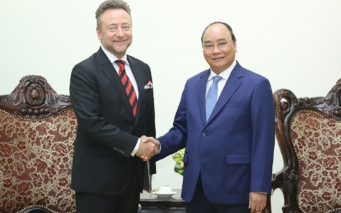 Нгуен Суан Фук принял посла Чешской Республики во Вьетнаме - ảnh 1