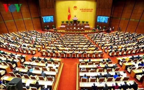 Парламент Вьетнама принял резолюцию о Программе разработки законов и указов на 2018 год - ảnh 1