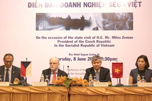 Вьетнам и Чехия активизируют торгово-инвестиционное сотрудничество - ảnh 1