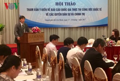 Обеспечение гражданских и политических прав во Вьетнаме - ảnh 1