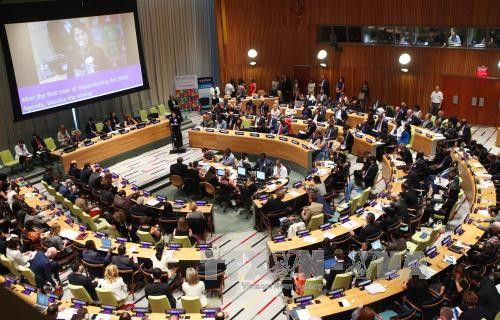 На министерском уровне ЭКОСОС принял заявление о ликвидации бедности и устойчивом развитии - ảnh 1