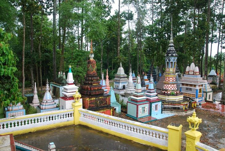 Кхмерские пагоды в провинции Шокчанг - ảnh 1