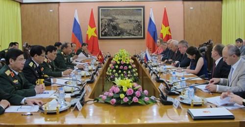 19-е заседание вьетнамо-российской межправкомиссии по военно-техническому сотрудничеству - ảnh 1