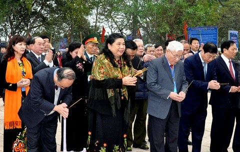 Bac Giang marks 130th anniversary of Yen The Uprising  - ảnh 1
