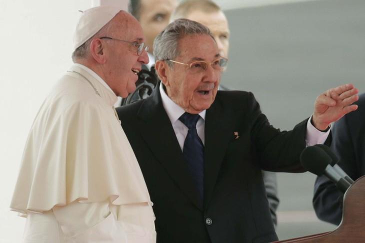 Pope Francis visits Cuba - ảnh 1