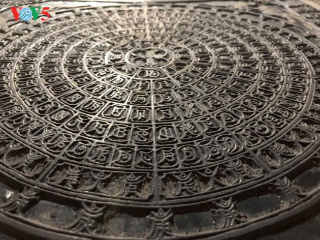 """World's oldest carved Buddhist Sutras on """"thi"""" wood at Bo Da pagoda - ảnh 8"""