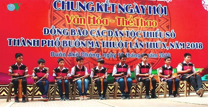 Gong performance promoted in M'Duk - ảnh 1
